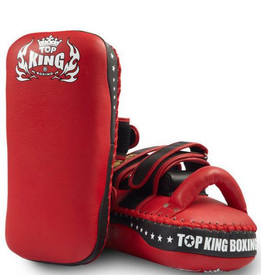 "Top King ""Super"" Thai Pads (TKKPS-CV) Red/Black"
