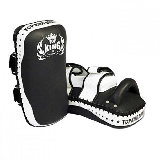 "Top King ""Super"" Thai Pads (TKKPS-CV) Black/White"