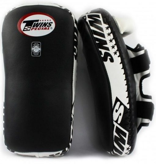 Twins Leather Curved Thai Pads (Velcro)
