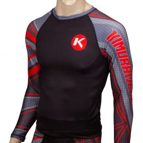 Kimurawear Edge Performance Rashguard - Red