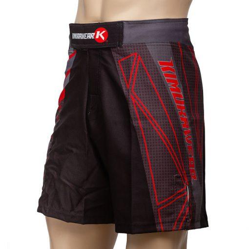 Kimurawear Edge Performance Board Shorts - Red
