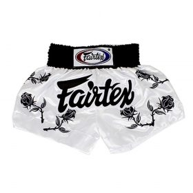 Fairtex Muay Thai Shorts - Black Roses (BS0659)