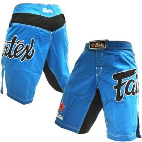 Fairtex MMA Board Shorts - Sky Blue