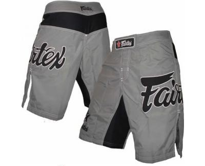 Fairtex MMA Board Shorts - Grey