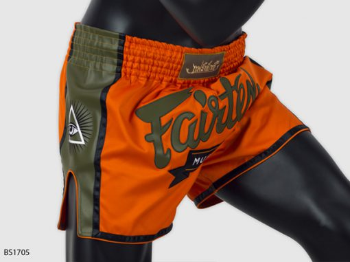 Fairtex Slim Cut Muay Thai Shorts - Orange BS1705
