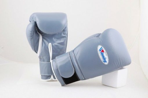 Winning Gray Boxing Gloves