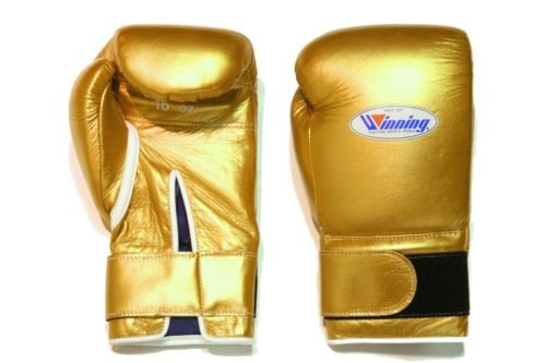 Winning Boxing Gloves - Gold