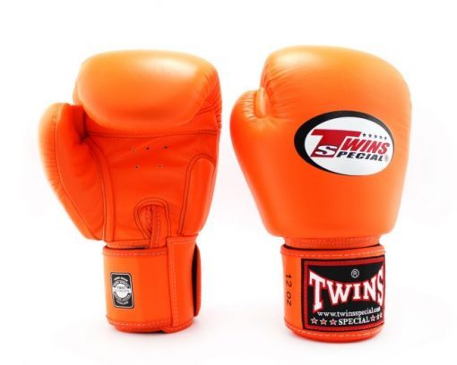 Twins Muay Thai Boxing Gloves (BGVL-3) Orange