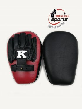 Kbrand Focus Mitts, Standard Size. Red/Black