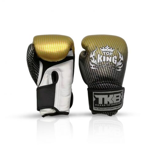 Top King Super Star Boxing Gloves Gold