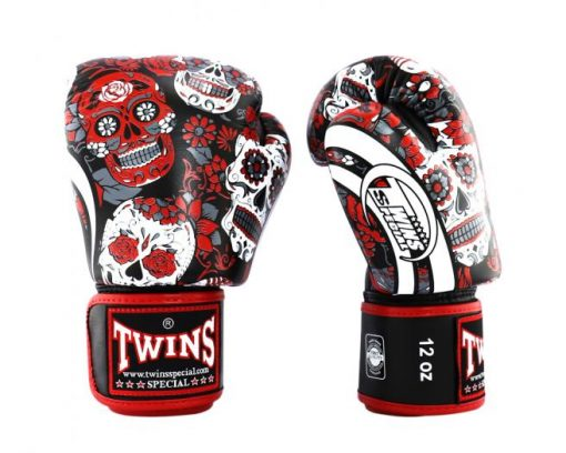 Twins Special Skull Boxing Gloves