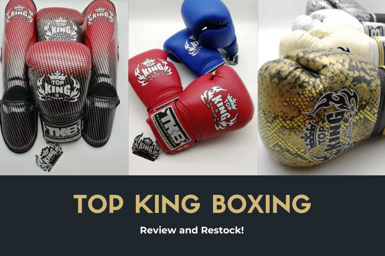 Top King Boxing Review & Restock!
