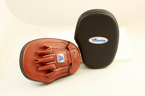 Winning Standard Boxing Punch Mitts CM20 Brown